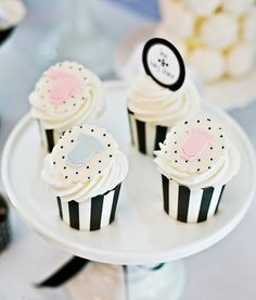 Modern Black & White Baby Shower-ish Celebration // Hostess with the Mostess®