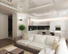 Зонирование гостиной комнаты | Идеи дизайна и варианты зонирования
