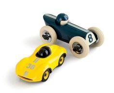 J.Crew crewcuts Playforever™ mini speedy Le Mans car.
