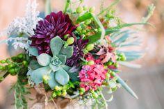 Flower bouquet in bloom