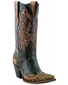 Lucchese Women's Granito Caf Calf Boot