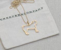 Pug - Gold > Chester & Company Shop