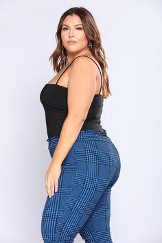 Don't Be So Square Bodysuit - Black - Bodysuits - Fashion Nova Big Girl Fashion, Summer Fashion Outfits, Curvy Fashion, Sexy Outfits, Womens Fashion, Plus Size Womens Clothing, Plus Size Outfits, Clothes For Women, Live Girls