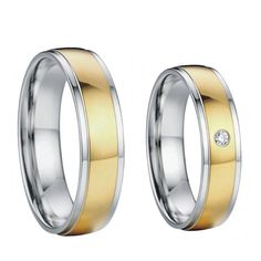 gold color his and hers health titanium steel bridal wedding bands engagement couples rings sets for men and women 2015