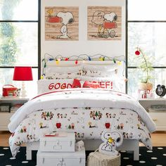 http://www.pbteen.com/products/peanuts-flannel-duvet-cover-sham/?pkey=choliday-gifts