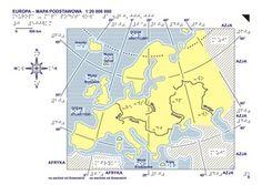 5. Europa – mapa podstawowa