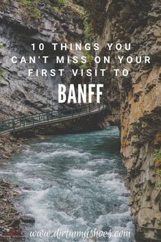Banff National Park is one of the most beautiful places in Canada, and should be on everyone's bucket lists! Planning an itinerary for your family vacation can be a challenge though, that's why I'm sharing this list of 10 things to do in Banff. Whether you're hiking with kids, camping with families, or are on a solo photography adventure through Alberta, this travel guide will help you choose the best hikes, discover mountain lakes and glaciers, and have the best road trip! #9 is incredible! Hiking With Kids, Road Trip With Kids, Canada National Parks, Banff National Park, Nature Activities, Canadian Rockies, And So The Adventure Begins, Best Hikes, Road Trippin