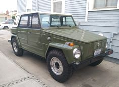 Bid for the chance to own a No Reserve: 1974 Volkswagen Thing at auction with Bring a Trailer, the home of the best vintage and classic cars online. Volkswagen 181, Volkswagen Thing, My Dream Car, Dream Cars, Thing 1, Alfa Romeo Cars, Bmw Series, Audi Tt, Classic Cars Online