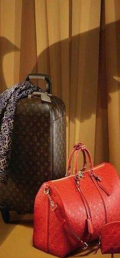Exquisite luggage #LV