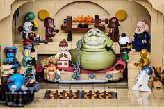 Mission to Jabba's Palace Star Wars Minifigures, Lego Star Wars, Amazing Spider Man Comic, Jabba's Palace, Starwars, Amazing Lego Creations, Lego Pictures, Lego 4, Lego People
