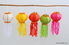 10 mix color home decoration lantern handmade patio by cottonlight, $15.00