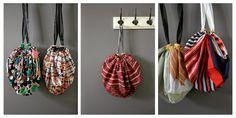 DMMU: Gratis naaipatroon: van vierkante sjaal naar handig tasje!