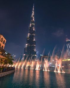 """Burj Khalifa, Dubai. Awesome spectacle!  #dubai #burj #burjkhalifa #arab #uae #traveler #travelgram #fountain #longexposure #water #night #blue #lights #city #tourist #nikon #desert #hot #explorer #lights #urban #street #reflection #glow #colour #cool #arabiannights #skyscraper #igdaily #instagood"" by @_ben_little_. #fslc #followshoutoutlikecomment #TagsForLikesFSLC #TagsForLikesApp #follow #shoutout #followme #comment #TagsForLikes #f4f #s4s #l4l #c4c #followback #shoutoutback #likeback…"