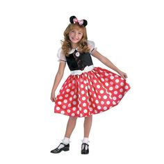 Girls Minnie Mouse Cheerleader Halloween Costume for Toddler