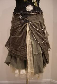 Steam punk all the way!  ...all the way on our journey to self...and we look good! Layers like this ensemble, inspire me. Thank you! Raven` Essence of Gypsy Steam