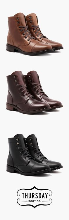 fcf9c5d612 Shop the Women's Captain Boot at thursdayboots.com. Starting at $199 w/ Free