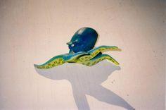 Octopus 1990's #FauxTaxidermy