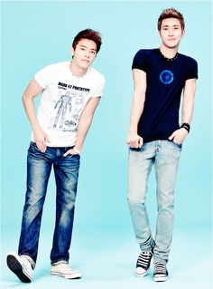 Super Junior  #Siwon #Donghae