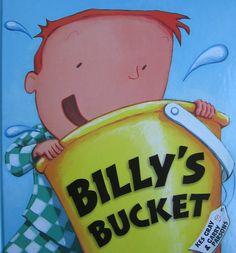 BILLY'S BUCKET - KES GRAY. Billy marzy o niezwykle nietypowym prezencie urodzinowym - i nie jest to ani gra komputerowa, ani rower czy nowe buty, on po prostu pragnie dostać...wiadro!