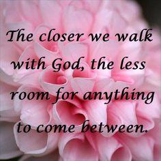WALK WITH GOD....
