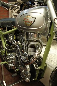Royal Enfield 350 Bullet: John Brittain | British National Motorcycles Museum