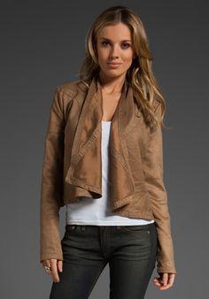 Shayna Ultra Suede Jacket