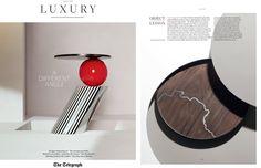 Bodo Sperlein Tane Silver Telegraph Luxury  http://www.bodosperlein.com/silver  #Telegraph #TelegraphLuxury #Silver #Wood #Plates #Tableware #AtlasPlate #Wood #Silverware #Tane #TaneSilver