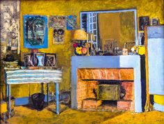 Edouard Vuillard - Vuillard's Room at the Chateau des Clayes, 1932 at the Art Institute of Chicago IL