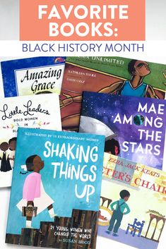 Some of my favorite books to read aloud throughout Black History Month. Head on over to the blog to post to read more about these fiction and nonfiction picture books.