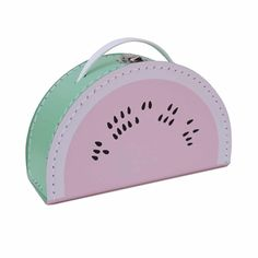 Der Sommer kann bleiben: Kinderkoffer von Kids Boetiek im Wassermelonen-Design zum Aufbewahren, Mitnehmen, Dekorieren.