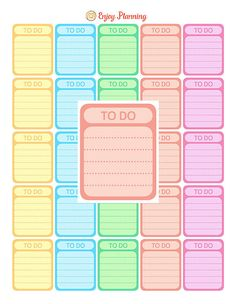Printable Full Box To Do Stickers Rainbow color for Erin Condren Life Planner  PRINTABLE IS FOR DOWNLOAD ONLY!  This Full Box To Do Stickers are sized to fit in the Erin Condren, but you can use them for any planner you wish!  As soon as you payment is confirmed, the download link will be sent to your registered e-mail address. You will receive one Letter Size (8.5 x 11) PDF documents and 1 JPG page (size 8x11, 300 dpi) with Full Box To Do Stickers.  Each full box sticker is approximately…