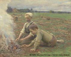 La récolte des pommes de terre par José Julio de Souza Pinto (Musée d'Orsay, Paris)