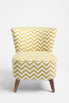 for the front room-Ziggy Chair from Urban Outfitters Home Design, Interior Design, Bakery Interior, Interior Decorating, Poltrona Vintage, Armless Chair, Take A Seat, Mellow Yellow, Beautiful Space