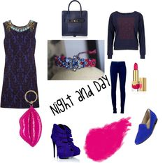 """""""Nuit et Jour"""" by sophie-panthere on Polyvore"""