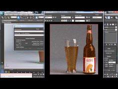 3DsMax rendering Photoreal beer bottle - 3DS Max Tutorials