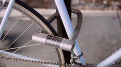 Cadeado para bicicleta avisa serviço de emergência em caso de acidente