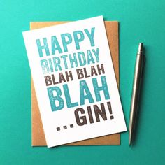 Are you interested in our funny adult birthday card gin? With our birthday card about gin funny you need look no further. Gin And Tonic Gifts, Gin Gifts, Funny Greeting Cards, Funny Cards, Funny Greetings, Happy Birthday Funny, Funny Birthday Cards, Birthday Wishes, Birthday Memes