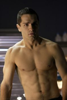 Ok Witwer is the only man I've ever seen who can pull off a butt-chin and make it look attractive.