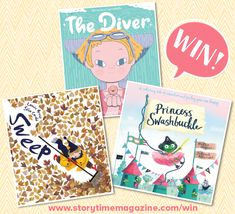 Storytime runs a kids competition each month where you can our brilliant Books of the Month and more! Enter today to be in with a chance of winning. Competitions For Kids, Story Time, Hush Hush, Bloomsbury, Veronica, Books, Eye, Princess, Libros