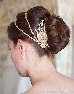Hunger games inspired wedding hair