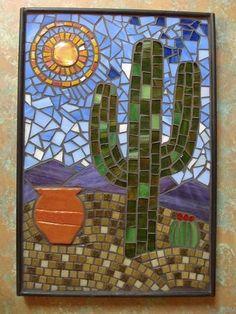 Mosaic Cactus, via Flickr. | My