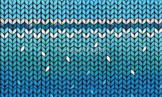 Aquamarine Knit
