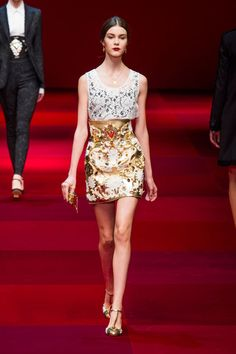 Dolce and Gabbana Spring 2015 Runway Show