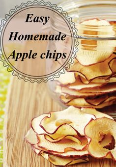 Have you checked the prices of those bags of dried apple chips? YIKES! It's cheap and easy to make your own, and you don't need a dehydrator. These easy homemade apple chips are perfect for a healthy after school snack.