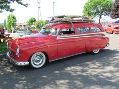 1950 Oldsmobile wagon