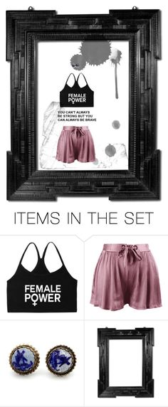 """You Can't Always Be Strong"" by supercheerios ❤ liked on Polyvore featuring art"