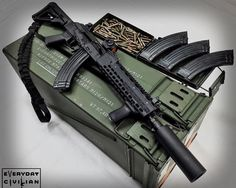 7.62 AK-47Loading that magazine is a pain! Get your Magazine speedloader today! http://www.amazon.com/shops/raeind