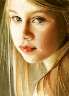 """""""Mona Lisa Smile"""" Drawn with colored pencil. It amazes me how people can do this. I so admire the skill."""