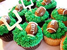 Football!@Deidre Ramsey-Shelby says we need to make these for PawPaw ;)