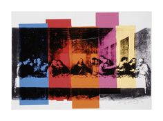 Detail of the Last Supper, c.1986 Giclee Print by Andy Warhol at Art.com